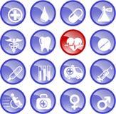 医疗的图标 免版税图库摄影