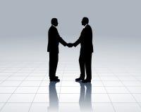 деловые контакты Стоковые Фото