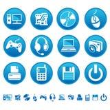 εικονίδια υπολογιστών Στοκ εικόνα με δικαίωμα ελεύθερης χρήσης