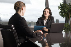 业务会议妇女 库存图片