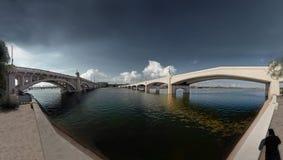 亚利桑那桥梁 免版税库存照片