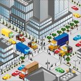 城市横穿 免版税图库摄影