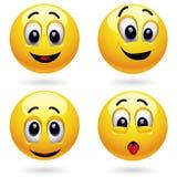球微笑 免版税库存图片