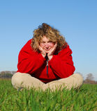 μεγάλη γυναίκα Στοκ φωτογραφία με δικαίωμα ελεύθερης χρήσης