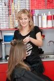 парикмахер Стоковое Изображение