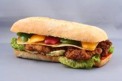 鸡肉三明治 库存图片