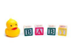 鸭子玩具 库存图片