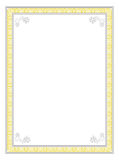 классицистическая рамка конструкции Стоковое Фото