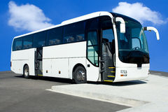 公共汽车浏览 免版税库存照片