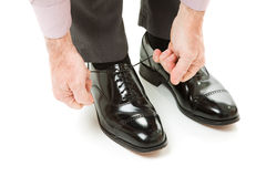 νέα παπούτσια ζευγαριού Στοκ φωτογραφία με δικαίωμα ελεύθερης χρήσης