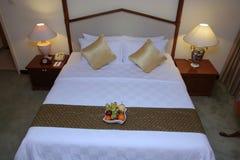 кровать Стоковые Фотографии RF