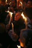 仪式火圣洁奇迹 免版税库存图片
