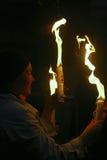 仪式火圣洁奇迹 免版税图库摄影