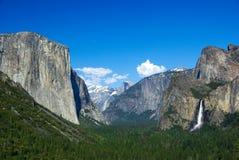 国家公园优胜美地 图库摄影