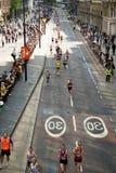 伦敦马拉松 库存照片