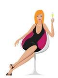 шикарная женщина Стоковая Фотография RF
