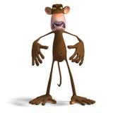 обезьяна дела Стоковые Изображения RF