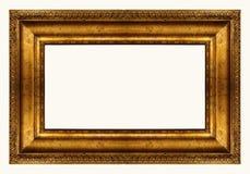 全景框架的金子 免版税库存照片