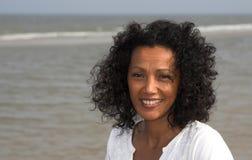 красивейшая чернокожая женщина Стоковые Изображения RF