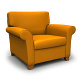扶手椅子 免版税库存照片