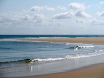 пляж Мозамбик Стоковые Изображения RF