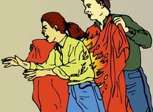 пожар одеяла Стоковое Фото