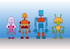 机器人系列 库存照片