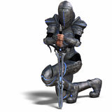 рыцарь женщины фантазии Стоковая Фотография RF