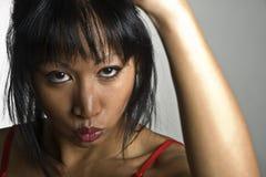 азиатская женщина Стоковое Изображение RF