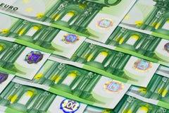 欧洲的钞票 库存照片