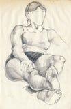домашняя женщина Стоковые Фотографии RF