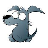 逗人喜爱的狗例证 免版税库存图片