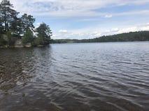 湖 库存图片