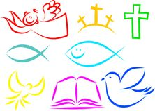 христианские иконы Стоковое фото RF