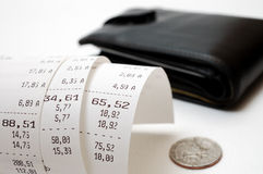 现金收款 免版税库存照片