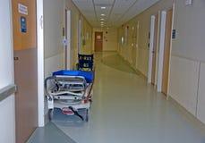盖尼式床走廊医院轮椅 库存照片