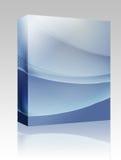 波浪配件箱颜色发光的程序包 免版税库存图片