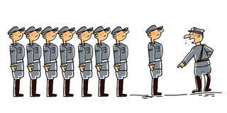 άτομο στρατιωτικό Στοκ Εικόνες