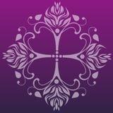 古典设计花卉模式 免版税库存图片