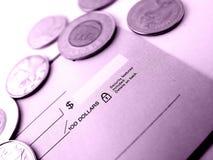πληρωμή λογαριασμών Στοκ Φωτογραφία