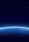 背景星系展望期星形 免版税库存照片