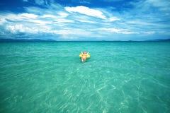 ωκεάνια γυναίκα Στοκ φωτογραφία με δικαίωμα ελεύθερης χρήσης