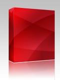 波浪配件箱颜色发光的程序包 免版税图库摄影