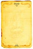 历史文件 免版税库存图片