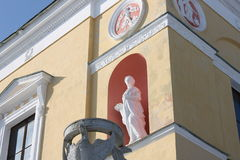 装饰雕塑 免版税库存照片