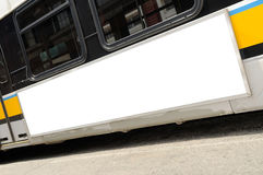 рекламировать шину Стоковое Изображение RF