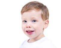 英俊的小孩 免版税库存照片