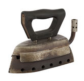 老古色古香的气体铁 免版税图库摄影