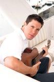 игрок гитары Стоковые Фото