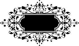 设计要素开花装饰品向量 免版税库存图片